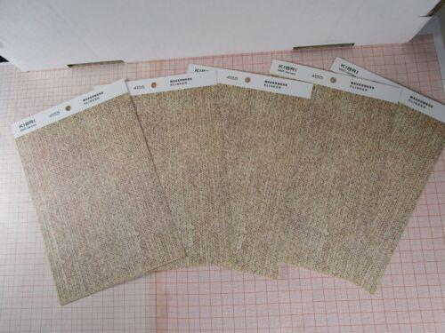 63,1€//m² 5x MauerPlatte aus Pappe KIBRI 4155 MAUERWERK KLINKER 12,8cm x 17,3cm