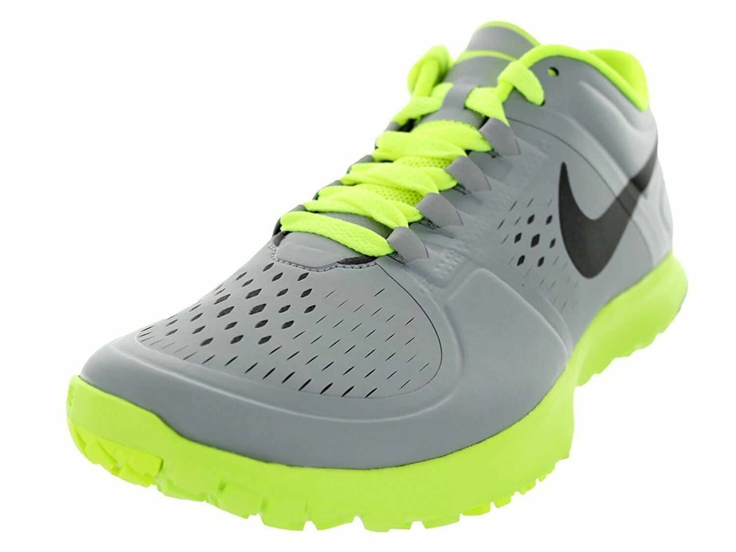 Men's Nike FS Lite Trainer Training Shoes, 615972 012 Size 11 Wolf Grey/Volt