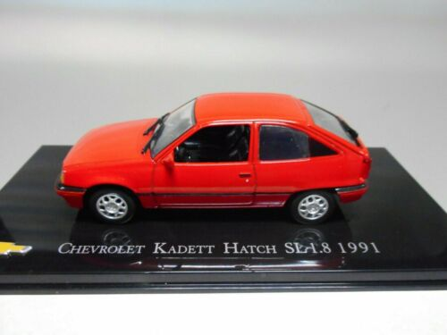 CHV 23 CHEVROLET KADETT HATCH SE 1.8 1991 BRASIL SALVAT 1//43 OPEL KADETT E
