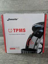 Jansite Smart Car Tpms Tyre Pressure Monitoring System Solar Power Digital Lcd
