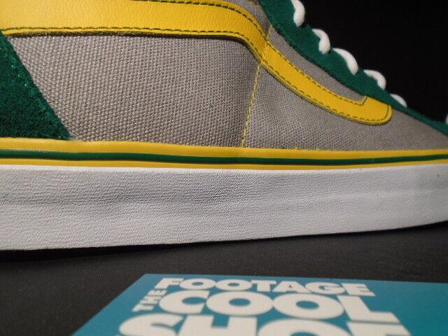 4126d38c74dbdc VANS Sk8-hi Reissue S Shoebiz Oakland Athletics A s Grey Green ...