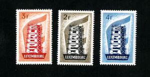 Luxembourg-timbres-318-20-XF-ORIGINAL-GUM-jamais-charniere-Scott-valeur-152