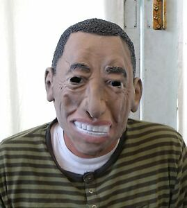 Image is loading US-President-Barack-Obama-Halloween-Costume-Mask-NEW  sc 1 st  eBay & US President Barack Obama Halloween Costume Mask * NEW * | eBay