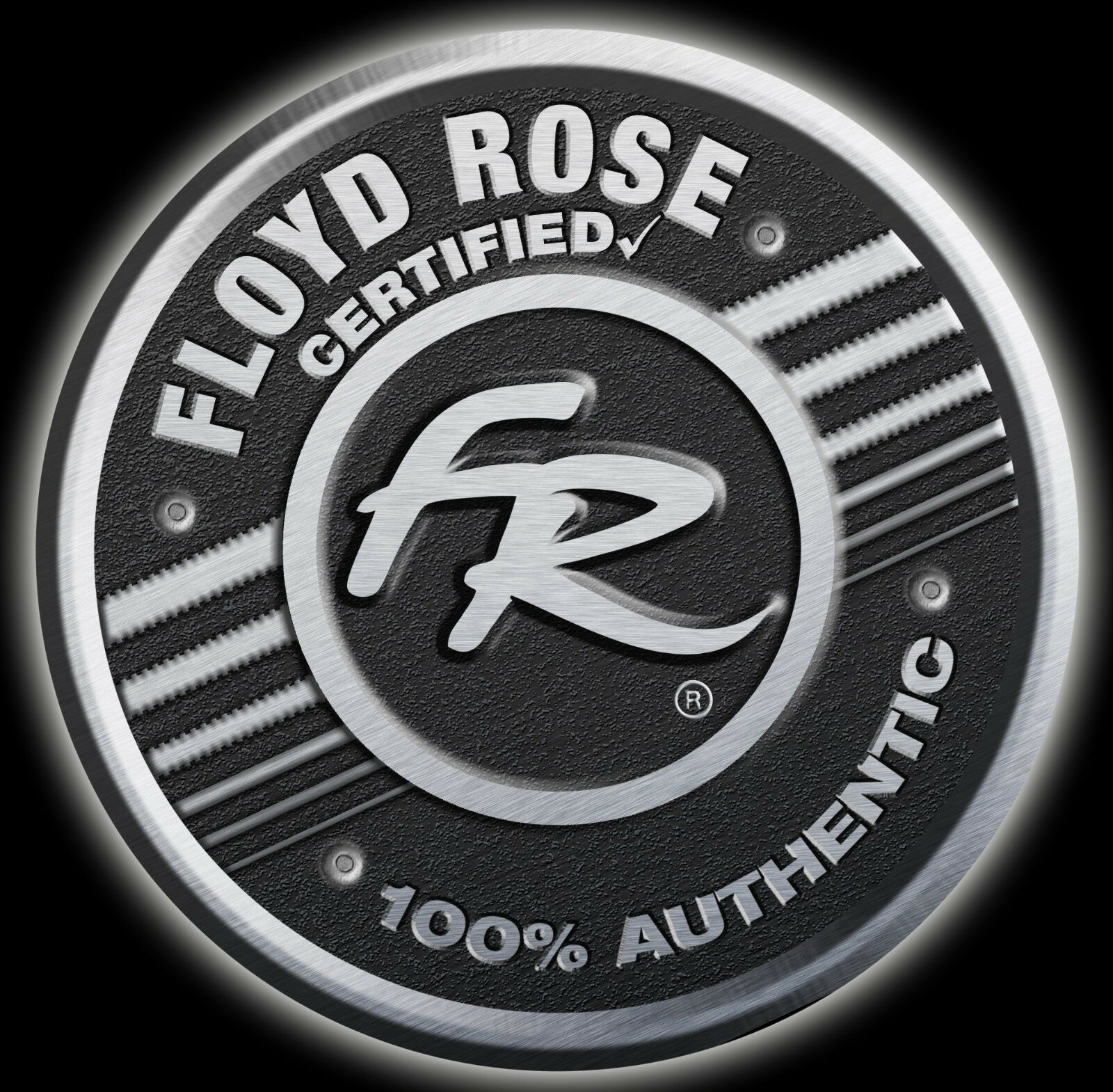 Auténtico Auténtico Auténtico Floyd rosado 1000 Pro 7 Cuerdas Puente Silla Series Set  Negro  oferta especial