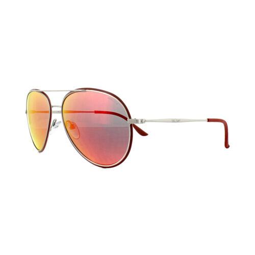 Matt Red Police Mirror soleil de Palladium S8299m Grey Q05r Brick Lunettes RqaXnvgE