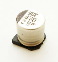 470uf 25v Smt Electrolytic Capacitors Suncon Ce-fs Series (50 Piece Lot)