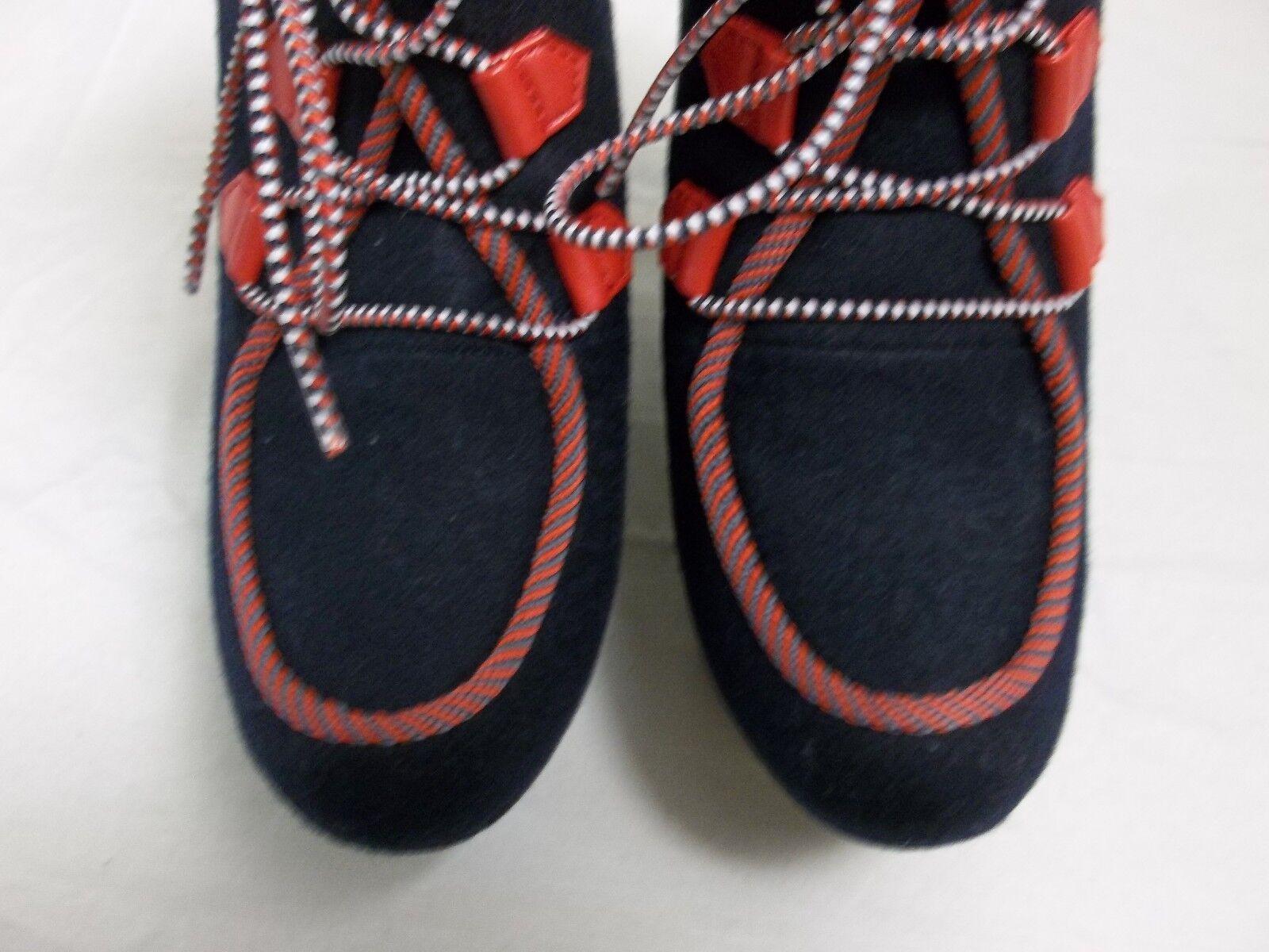 Rachel Booties Roy Größe 7.5 M Hayleey Dark Blau Booties Rachel Wedges New Damenschuhe Schuhes 62f093