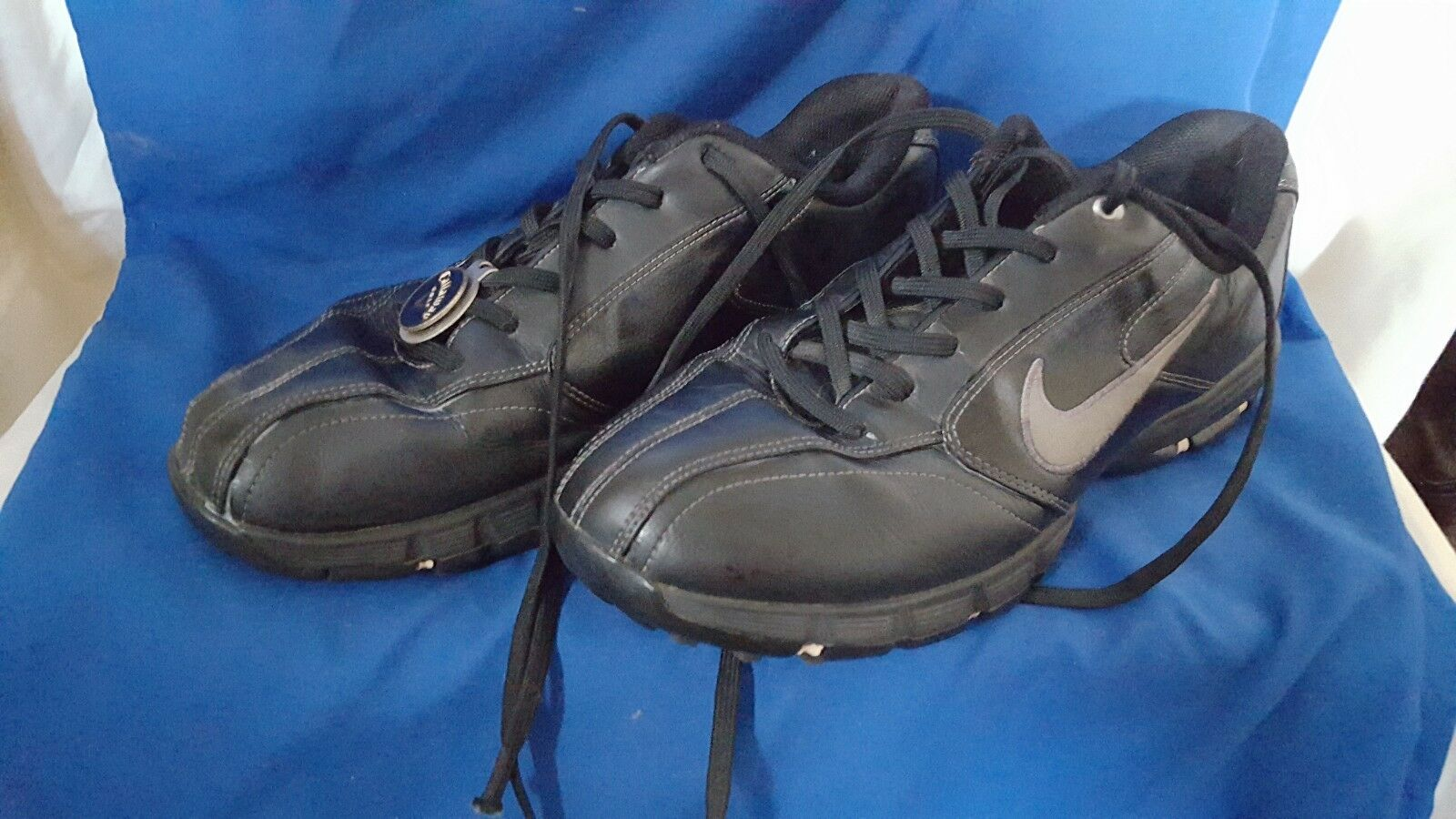 NIKE AIR SPORT PERFORMANCE MENS Athletic Golf Cleats Shoes Size 8  317447-001 for sale online