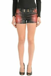 Just-Cavalli-Multi-Color-Covered-Women-039-s-Casual-Shorts-US-26-IT-40