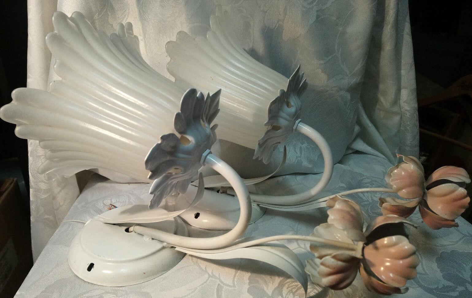 Murale Éclairage de métal avec verre Combinaison
