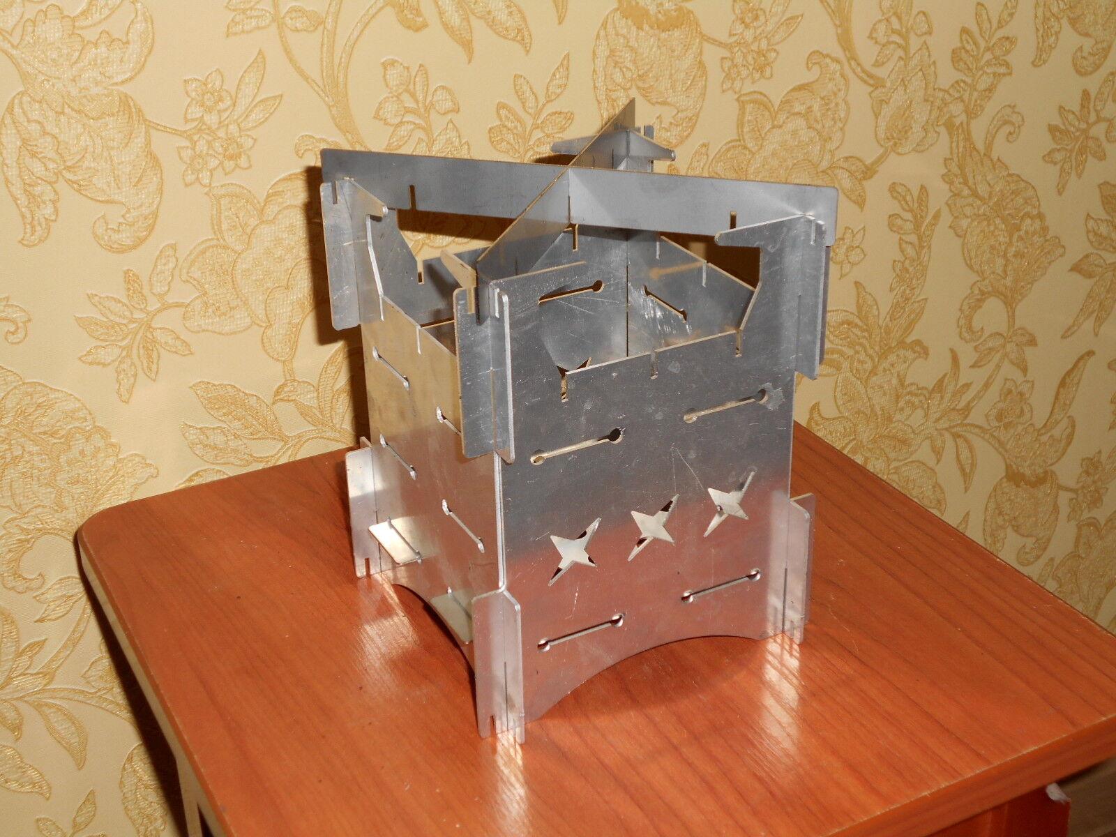 Aluminum Wood Stove 110х110 (firebox)