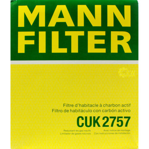 Original Homme-Filtre Charbon Actif Filtre Pollen Filtre Intérieur Filtre CUK 2757