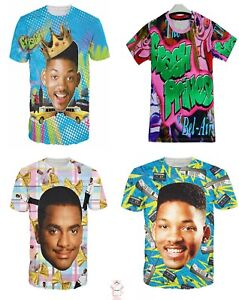4e75b3d1 Fresh Prince Of Bel 3D T-shirt Air Graphic Tee Full Print Men Women ...