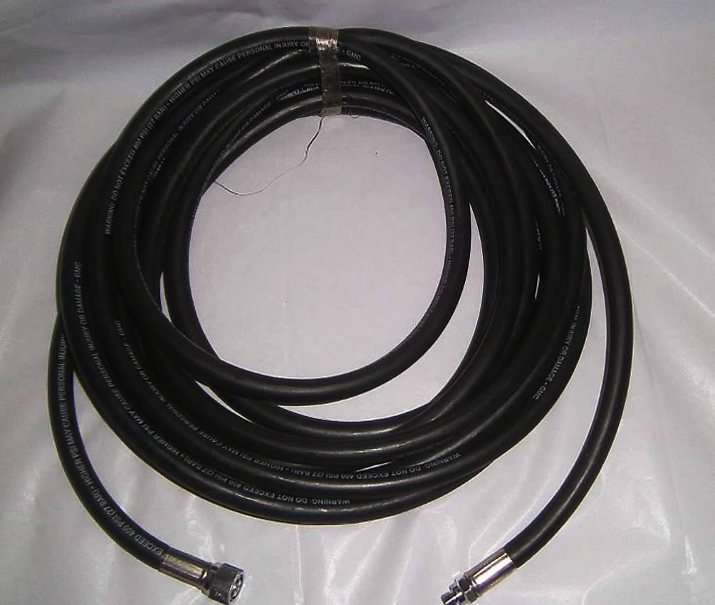 Scuba Regulator Hose 25' long 400psi service - surface supply   film industry