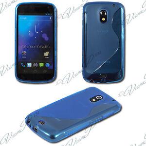 Cover-Case-TPU-Silicone-Gel-S-LINE-Samsung-Galaxy-Nexus-i9250-Blue