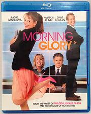Morning Glory (Blu-Ray, 2010) Rachel McAdams, Harrison Ford, Diane Keaton