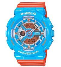 Casio Baby-G * BA110NC-2A Anadigi Gloss Blue & Orange MOM17 COD PayPal