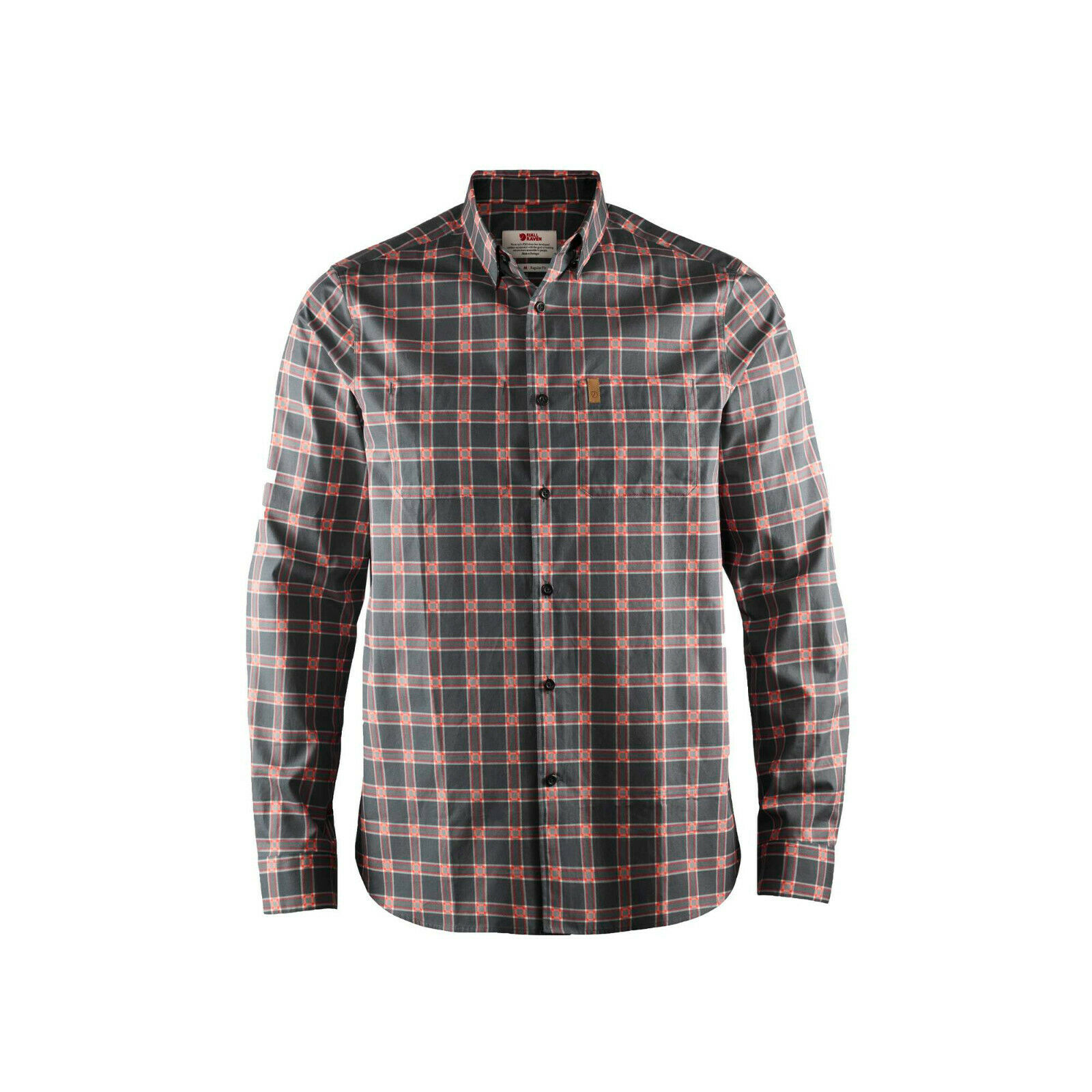 Camisa costera alta de fjallrraven número L  mediana - muestra no decorada de saleman