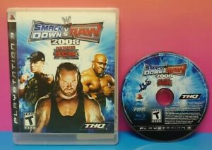 Smackdown-vs-Raw-2008-ECW-Wrestling-WWE-Playstation-3-PS3-Game-Rare-Tested