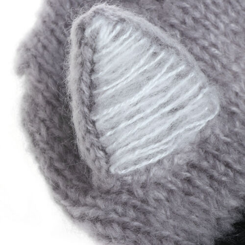 Baby Newborn Ox Horn Ear Hat Baby Soft Mohair Knit Caps Props Photography Photo