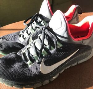 detailing fd00e d4f12 Details about Mens Black 'Nike' Free 5.0 Athletic/Running Shoes Size 13