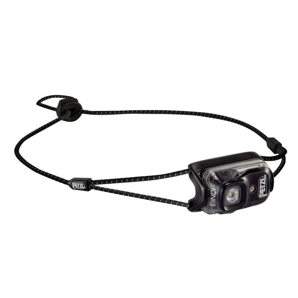 LAMPE FRONTALE ULTRA COMPACTE PETZL BINDI nero - RECHARGEABLE USB