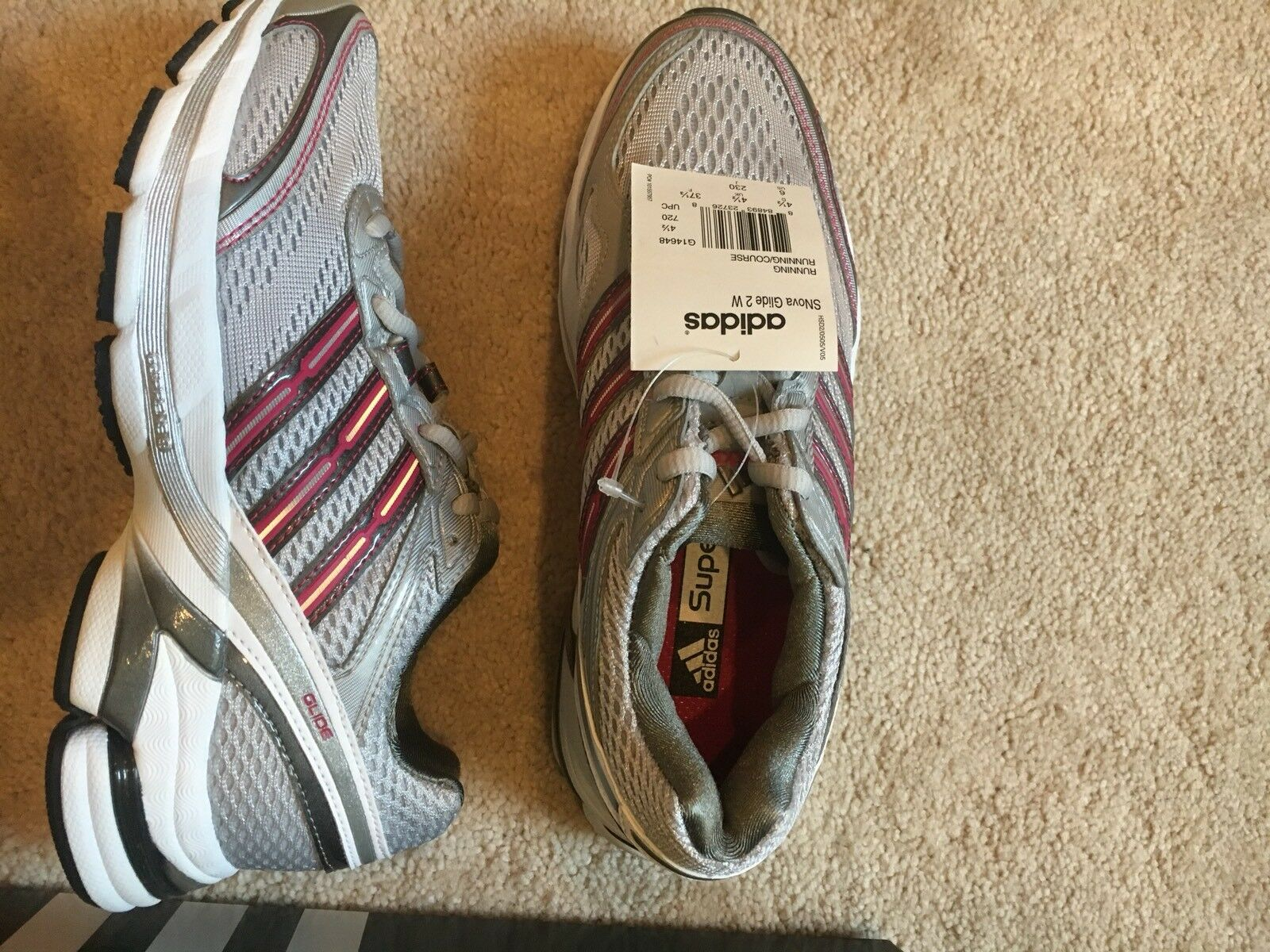 Adidas Women's Running shoes SNova Glide 2  W Size 6 Brand New Never Worn  the classic style
