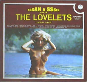 LP-33-The-Lovelets-Sssax-amp-Sssex-Vol-2-SEXY-COVER-ITALY-1974