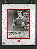 I Love Lucy, Vitameatavegamin With Lucille Ball Poster 16x20 Inches