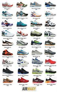 Nike Air Max History Timeline 1987-2014