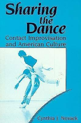 1 of 1 - Sharing the Dance: Contact Improvisation and American Culture-ExLibrary