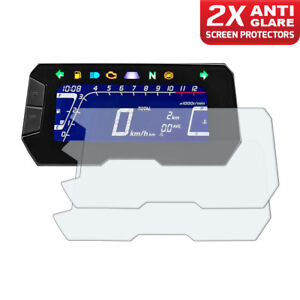 2-x-Honda-CB125R-CB300R-2018-Dashboard-Screen-Protectors-Anti-Glare
