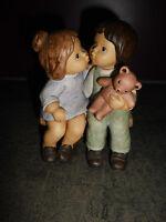 Goebel Nina & Marco Limpke Küssen auf der Bank  Sammelfigur