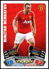 Dimitar Berbatov Man. Utd #179 Topps Match Attax Football 2011-12 Card (C208)