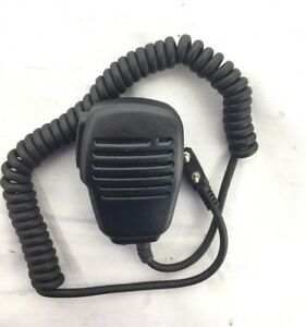 Tenq 2-pin Shoulder Remote Speaker Mic Microphone PTT for Kenwood Puxing Wouxun Baofeng Two Way Radio 2pin