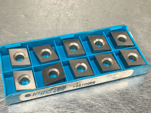 10 PCS NEW INGERSOLL BDE 223R 001 GRADE IN40P CARBIDE INSERTS CNC MILL TOOLING