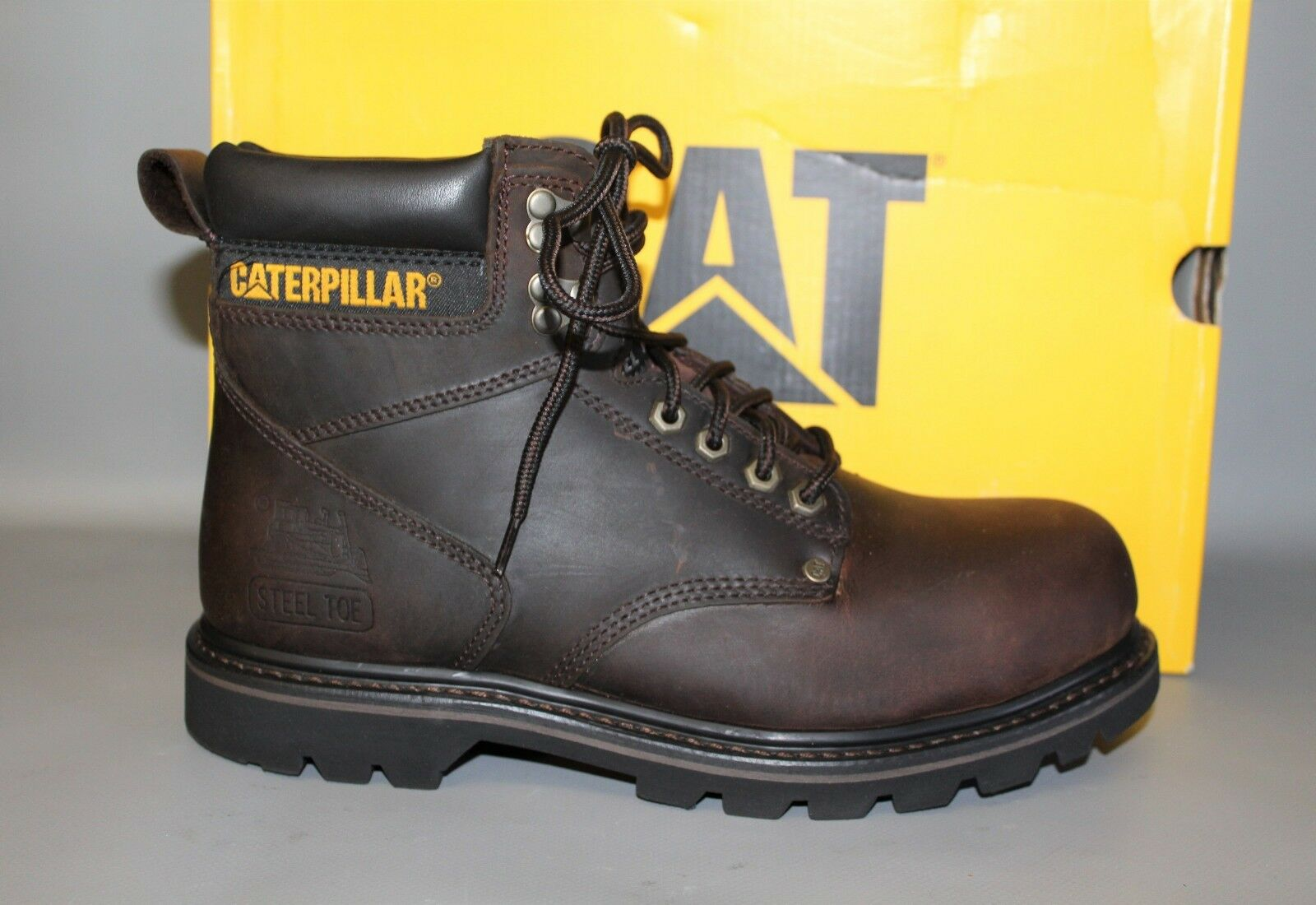 Men's CAT P89586ST Second Shift, Size 9 Medium Steel Toe Work Boot