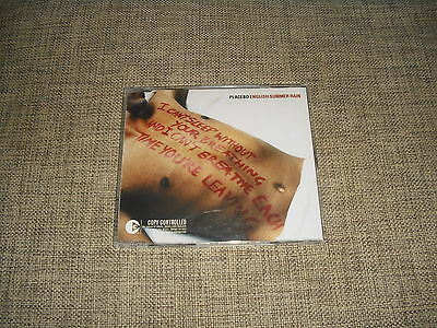 PLACEBO - ENGLISH SUMMER RAIN - 3 TRACK LIMITED DJ REMIXES EP   UNIQUE  UNPLAYED