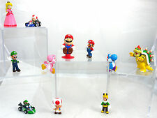 SUPER MARIO BROS. & FRIENDS NINTENDO LOT FIGURES PVC FIGURE