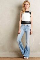 Mother Jeans Cruiser Fray Flare 27 $196 Anthropologie Pretty Little Word