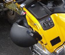 Lidlox Grip Tip Helmet Lock Pair for Honda Gold Wing, Chrome.
