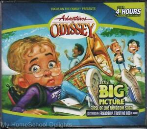 New Sealed Adventures In Odyssey The Big Picture 35 4 Cd