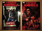 Captain America: Red Menace Vol 1 & 2 TPB Marvel Graphic Novel Lot (Ed Brubaker)