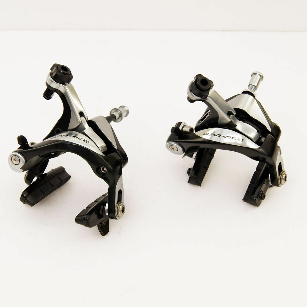 New Shimano Dura Ace BR-9000 Road Bike Brakes Pair Dual Pivot PAIR Front & Rear