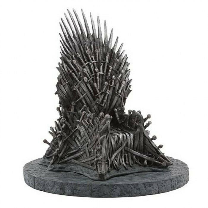 GAME OF OF OF THRONES IRON THRONE 7 REPLICA 16f332