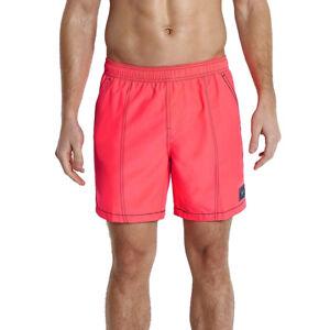 Speedo-Leisure-Check-Trim-Summer-Swim-Shorts-Mens-Size