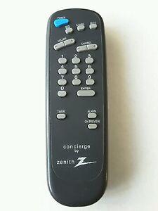 zenith sc652 concierge tv remote control h19f34dt h24f34dt h24f36dt rh ebay com