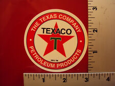 Texaco Gas Station Vintage Drag Racing sticker decal NHRA Rat Rod Street Rod