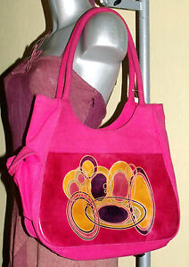Porte Hippie Grand Besace Ethnique Sac Cool Rose Vif Epaule Neuf Macha Baba Inde 5xOAOwqr
