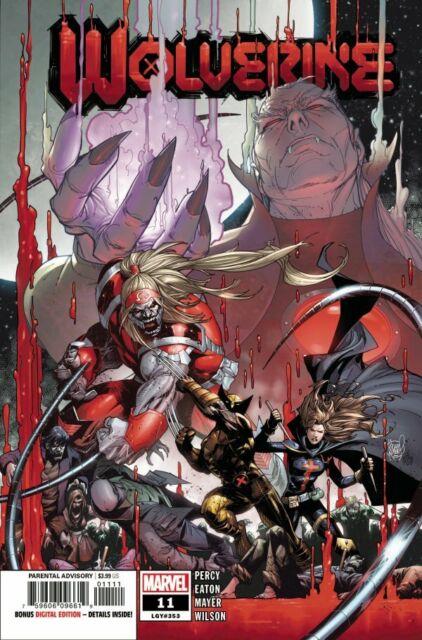 Marvel Comics Wolverine 11 (LGY 353) - 1st Print (2021) CVR A Vol 7